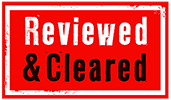 Reviewed & Cleared Logo